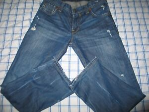 Kasil Custom Heritage Slim Straight Men's Jeans USA Made 31x30