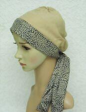Chemo head wear, chemo hat, head scarf for hair loss, alopecia, chemotherapy