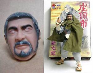Alfrex Samurai series 1/6 SHINTARO KATSU Zatoichi Action Figure F/S JAPAN