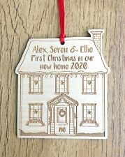 Personalised 1st First Christmas In Your New Home Decoration Bauble 2020 Gifts