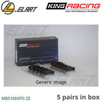 King Racing Main Shell Bearings MB5168XP 0.25 Oversize For HONDA 2.2 F22A-H22A