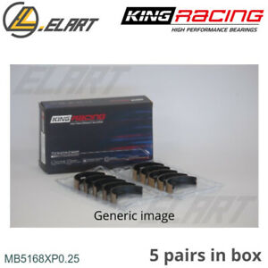 King Racing Main Shell Bearings MB5168XP 0.25 Oversize For HONDA 2.2 F22A-H22A