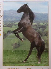 Rearing Horse jigsaw puzzle 1000 piece Clementoni Animals series pony equestrian