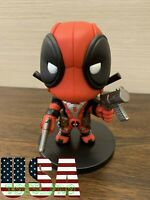 "5.5"" Marvel Deadpool Bobble Head Figure ❶USA❶ WITHOUT BOX"