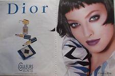 publicité  Produits de Maquillage CHRISTIAN DIOR -    année 1999- ref. 4004