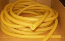 "50  FEET 5/8"" I.D x 1/8"" wall AMBER Latex Rubber Tubing USA MADE"