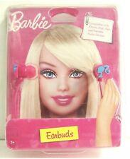 Barbie Silhouette Earbuds Pink NEW Headphones Earphones