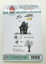"""TAYLORED EXPRESSIONS """"FRIGHTFUL NIGHT"""" - HALLOWEEN, GHOST, HAUNTED HOUSE, HTF"""