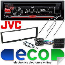 RENAULT MODUS 2004 - 2012 JVC Bluetooth CD MP3 USB STEREO AUTO & Fascia Panel KIT