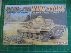 NEW King Tiger (Henschel Turret)  Sd. Kfz. 182 -- Dragon No. 6208 1:35 scale
