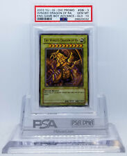YUGIOH GBI-003 THE WINGED DRAGON OF RA ULTRA RARE PSA 10 GEM MINT #28620032