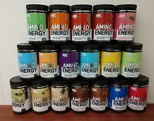 Optimum Nutrition Amino Energy 30 Servings (All Flavors) 9.5oz 10.6oz ON AMIN.O.