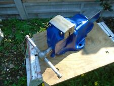 """Large Parkinsons No 7 Engineering Vice 4 1/4"""" Jaws Heavy Duty Quick Release"""