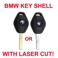 BMW Key Shell * w/ CUT INCLUDED * E60 E46 E39 E63 X5 HU92 HU58
