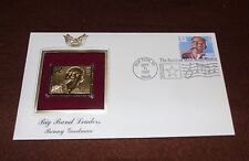 1996 Big Band Leaders Benny Goodman 22kt Gold GOLDEN First replica Cover STAMP