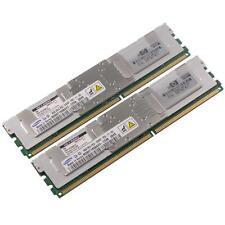HP DDR2-RAM 16GB-Kit 2x8GB PC2-5300F ECC 2R - 413015-B21 ProLiant BL 460c G5