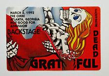 Grateful Dead Backstage Pass Puzzle Gone With The Wind Atlanta GA Omni 3/2/1992