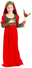 Anglo Saxon Tudor Girl Juliet Medieval Dress Costume Book Week Outfit New 4-12