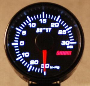 45mm electrical boost turbo gauge Audi Subaru VW Mr2