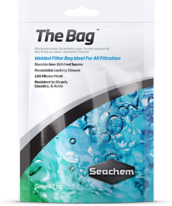 Seachem The Bag Welded Filter Bag Ideal for All Filtration, Nylon and Durable