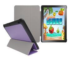 "for Insignia Flex 10.1"" NS-P10A7100 Tablet Slim Folio Skin Cover Case, Purple"