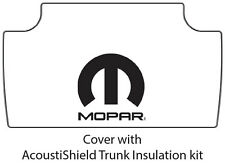 1968 1970 Dodge Plymouth Car Trunk Rubber Floor Mat Cover with M-006 MOPAR