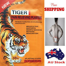 Tiger Pain Balm Relief Plaster Patches - 8 pcs - 7x10 cm Each - Fast & Free Post