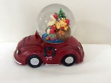 SANTA IN A CAR MUSICAL SNOW DOME BY GISELA GRAHAM - 35590