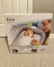 The First Years Cozy Baby Sleeper, Portable and Washable Infant Bed ( New )