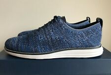 Men's Cole Haan Zerogrand Stitchlite Wingtip Oxford Shoes Navy Blue Ink | sz 11