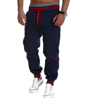 Mens Dance Harem Pants Trousers Tracksuit Fitness Workout Joggers Gym Sweatpants