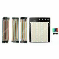 1x Soudure Breadboard 2390 Tie Point PCB +120Pcs Jumper Wires Câble Male/Female