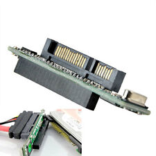 44 pin 2.5'' IDE HDD SSD Laptop Hard Drive Female to 7+15 pin Male SATA Adapter