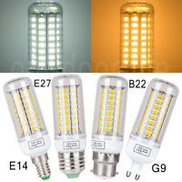 E27 E14 B22 G9 3/6/9/12/15W SMD bombillas LED de luz de maíz lámpara de la cápsu