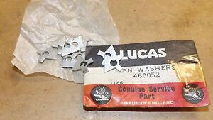 Lucas Magneto lock washers x 10.Pt.NO.460052.NOS.