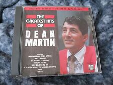 "DEAN MARTIN CD ""GREATEST HITS OF DEAN MARTIN"" USED CD CANADA IMPORT"