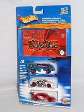 Hot Wheels 2004 Yu-Gi-Oh! Guide 3 Pack Hyperliner Muscle Tone Custom Cougar