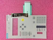 For Siemens Siprotec 7Sj62 7Sj6225-4Eb22-1Hf0/Ee 7Sj6225 4Eb22 Membrane Keypad