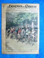 La Domenica del Corriere 29 luglio 1923 Girardengo - Gius Bordogna - Milano