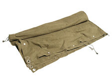 East German Army Stritchtarn Camo Half Tent Shelter Tarpaulin Cape Grade 1
