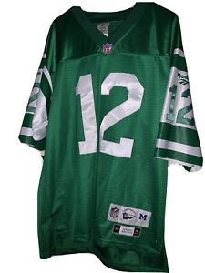 Joe Namath 1968 Jets Stitched NFL Throwback Jersey    Reebok Size M