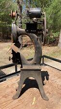 Jl Morrison Paper Book Stapler Stitcher Binding Machine With Foot Pedal Antique