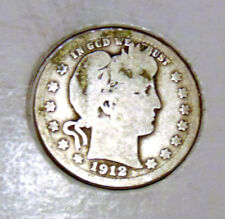 1912 Barber Quarter (FREE SHIPPING OFFER) A
