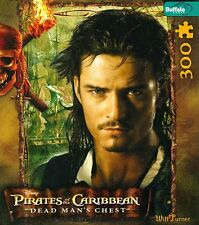 """""""WILL TURNER"""" Pirates Of The Caribbean Character BOXLESS Jigsaw Puzzle *100%*"""