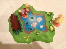 Maurice Sendak's Little Bear PVC Figures  Pond Ducks Lot of 3 HTF!
