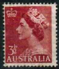 TIMBRE REINE ELISABETH  3   1/2   AUSTRALIE
