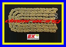 Catena Racing EK GP 520 ZZZ Quadra X-Ring 120mg. ORO forata colorata XRING PBR