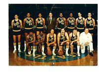 1969 1970 SEATTLE SUPERSONICS  TEAM  PHOTO  BASKETBALL WILKENS RULE NBA