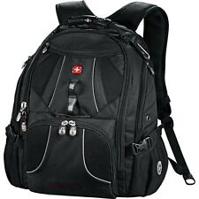 "Wenger Mega Black 17"" Laptop / MacBook Pro Backpack, Swissgear Laptop 17 - New"