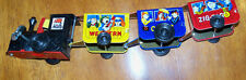COMIC ZIGZAG EXPRESS WIND-UP TIN  TOY TRAIN (VINTAGE) NEW IN BOX